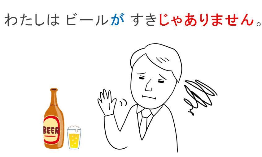 みんなの日本語第9課の教案とイラスト形容詞が好きです上手です