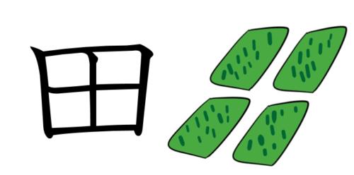漢字 成り立ち 田