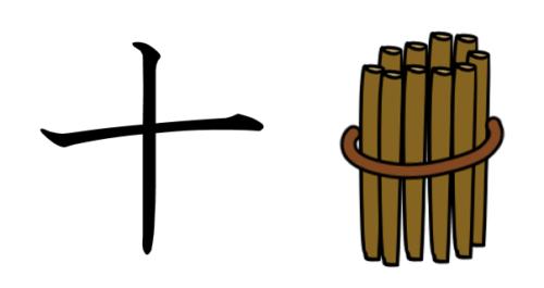 漢字 成り立ち 十