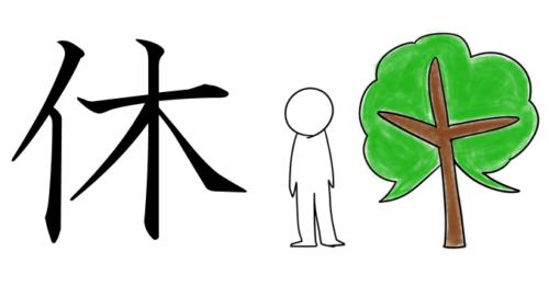 漢字 成り立ち 休