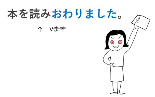 ~終わる N3文型
