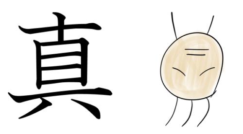 漢字の成り立ち(真)
