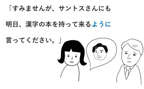 みんなの日本語」中級第2課の教案