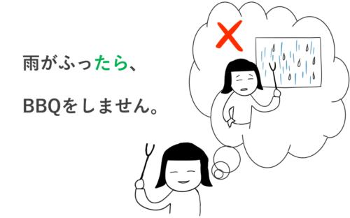 みんなの日本語・第25課の文型「~たら」仮定形
