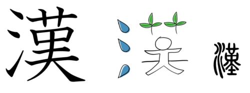 漢字の成り立ち「漢」みんなの日本語