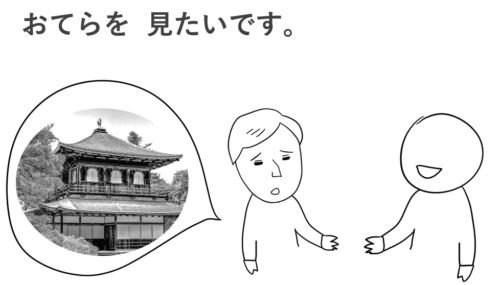 お寺を見たい