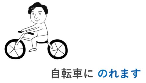 自転車に乗れます 第27課