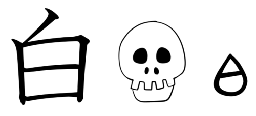 白 漢字 成り立ち