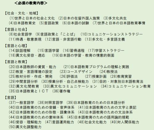 公認日本語教師