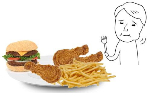 もぐもぐ 食べる