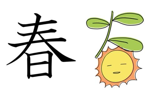 春 漢字 成り立ち 起源