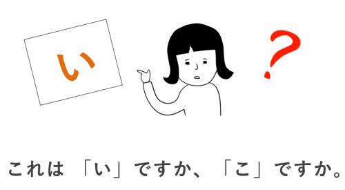 選択 日本語初級・第2課の教案とイラスト