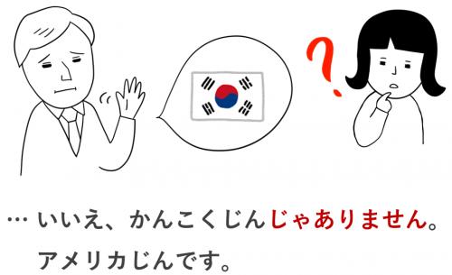 いいえ、 じゃありません 否定文 日本語