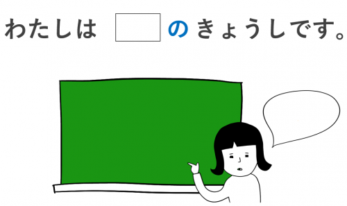 所属 助詞 の 日本語 初級