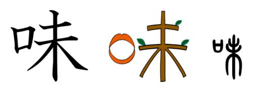 味 漢字 成り立ち イラスト