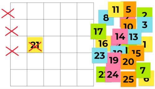 数字 ゲーム 日本語を教える