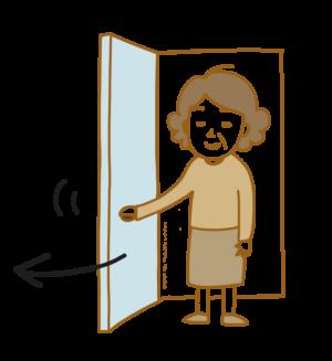自動詞 他動詞 日本語 開ける 開けます ドア
