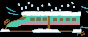 自動詞 他動詞 日本語 新幹線 とまる とまります 雪