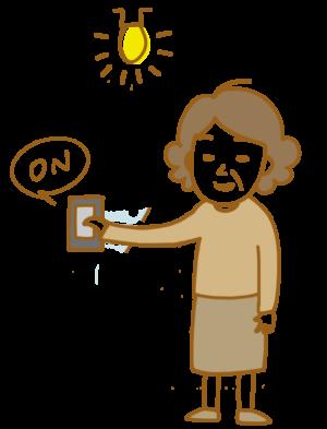 自動詞 他動詞 日本語 つける つきます 電気