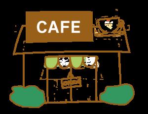 喫茶店 イラスト