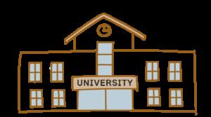 イラスト 大学
