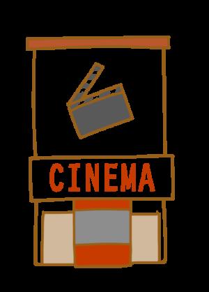 イラスト 映画館